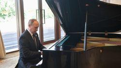 プーチン大統領、ピアノの腕前は?