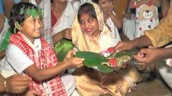 インドでは雨を願って〇〇が結婚!【動画】