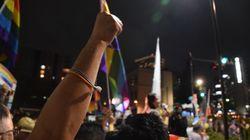 杉田水脈議員の辞職を求める抗議運動に約5000人。「人権無視する議員はいらない」と声が上がった