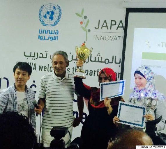 ガザ地区で起業支援コンテスト 主催の上川路文哉さん「悲惨な状況だが、人々に希望を与えたい」