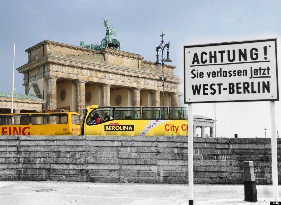 ベルリンの壁崩壊から25年 「過去と現在」が時空を越えてシンクロする(画像)