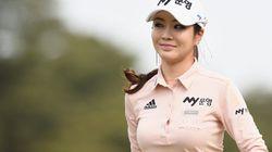 アン・シネ、ミニスカで魅了のゴルファーが人気急上昇(画像集)