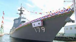「まや」と命名。海上自衛隊の新型イージス艦。旧海軍の「摩耶」と同じ響きに