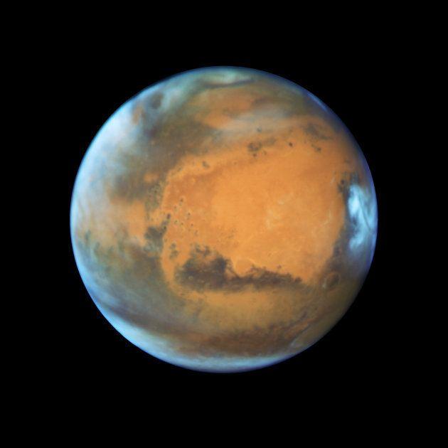 NASAが撮影した火星(2016年5月12日)