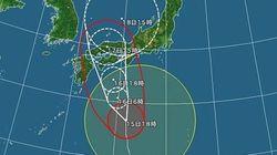 台風11号 大雨・暴風の警戒期間