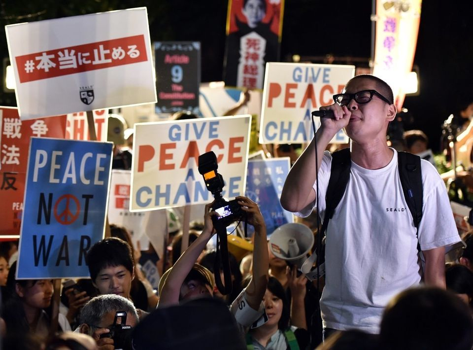 【安保法制】強行採決に全国各地で抗議集会 国会前はのべ10万人(画像集)