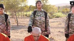 IS(イスラム国)の外国人少年兵が捕虜を殺害する動画が公開される