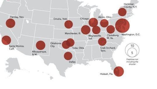 「銃による大量殺人事件」は今年だけで17件:米国の現状