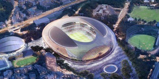 新国立競技場の建設計画、政府が見直しへ アーチ維持案や、コンペ2位案も