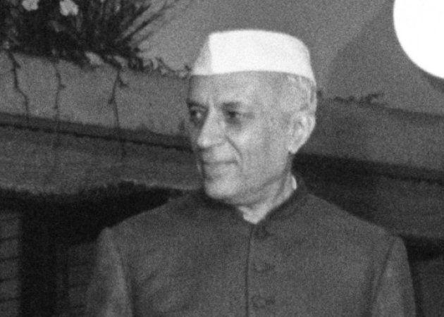 インドのネール首相撮影日:1957年10月08日