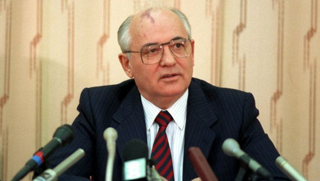 旧ソ連のゴルバチョフ元大統領