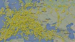 【マレーシア航空機墜落】世界の国際線が一斉にウクライナ上空を避けて運航している