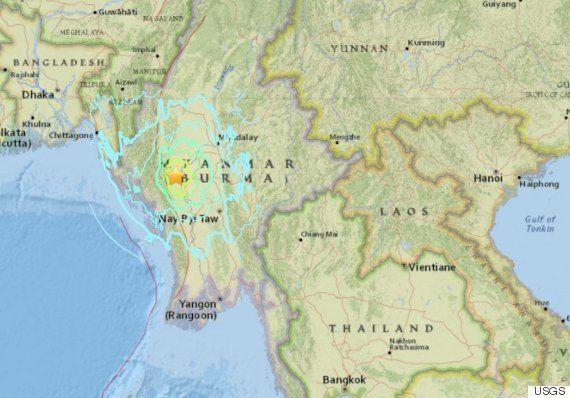 ミャンマーでM6.8の地震 バガン遺跡の仏塔に被害【UPDATE】