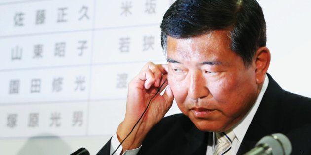 石破茂幹事長はなぜ安倍内閣の主要閣僚に選ばれないのか