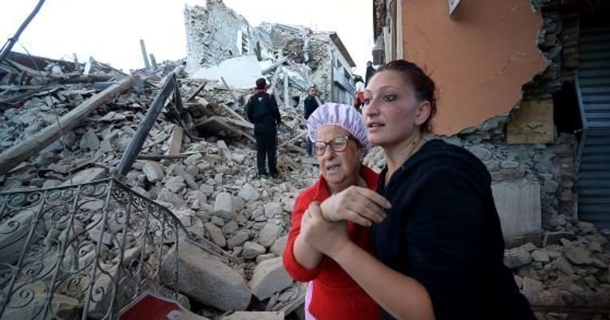 「町の半分が失われた」イタリア中部でM6.2の地震 首都ローマでも揺れ観測