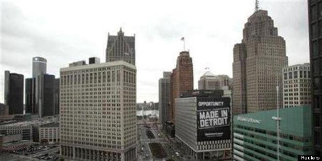 ハゲタカが狙うデトロイト市