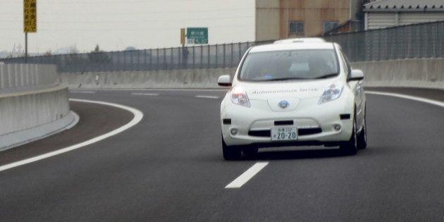 日産、自動運転車を2016年投入 まず高速道走行と駐車