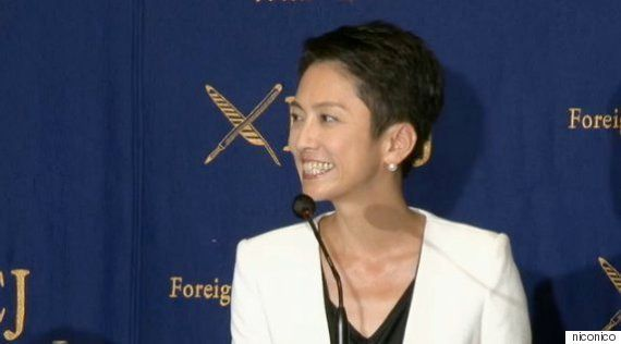 蓮舫氏「岡田代表が大好き。ただ、本当につまらない男」