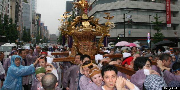 神田祭、4年ぶりに開催