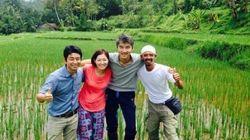 サラリーマンからインドネシアの農家へ「おいしいもの」を食べる豊かさ探し