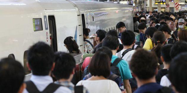 帰省ラッシュの東京駅=2017年8月11日(本文とは関係ありません)