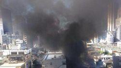新宿区で住宅火災、けが人も【画像】