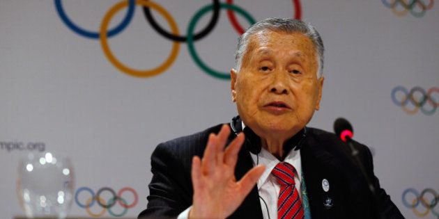 2016 Rio Olympics - Rio de Janeiro, Brazil - 03/08/2016. Yoshiro Mori, head of the 2020 Tokyo Olympics...