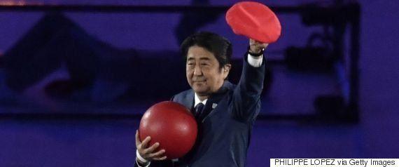 安倍マリオ「森喜朗会長が総理に提案」