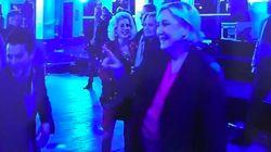 ルペン氏は踊ることをやめなかった。フランス大統領選で敗北しても(動画)