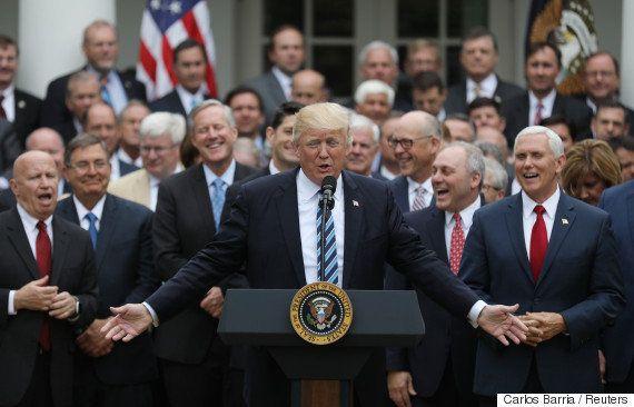 画像加工されたトランプ大統領の写真が、アメリカのインターネット民を混乱させる