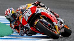 【MotoGP2017】第4戦スペインGPのフリー走行、ホンダ勢がトップ3を独占(画像)
