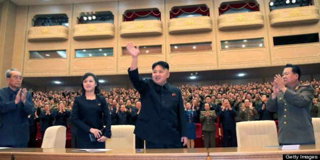 This undated picture, released by North Korea's official Korean Central News Agency (KCNA) on May 13,...