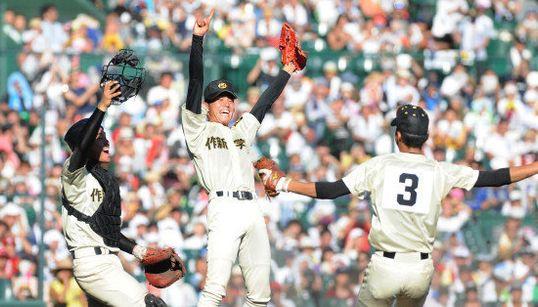 【夏の甲子園】作新学院、54年ぶり優勝 北海に集中打で逆転勝利