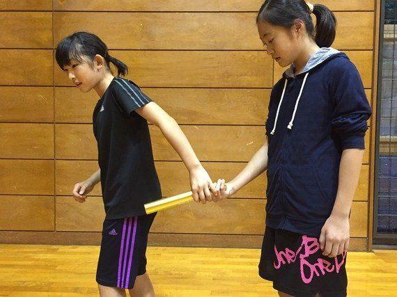 日本代表バトンパスの秘密