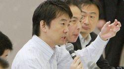 橋下氏、メディア批判を強める