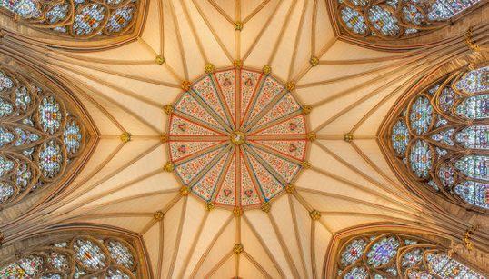 世界の教会、美しい「天井」の画像集