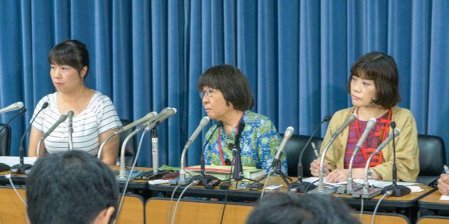 東京医大の不正入試について、相談を受け付ける弁護団が会見した