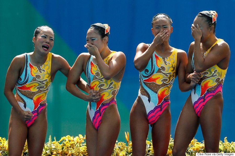 シンクロ、復活の銅 世界で戦うアスリートは8人の美しき女神になった(画像集)【リオオリンピック】