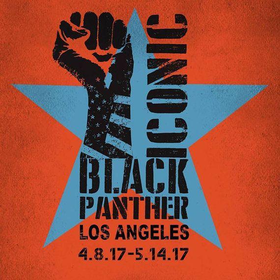 50周年のブラックパンサー党を称えて -