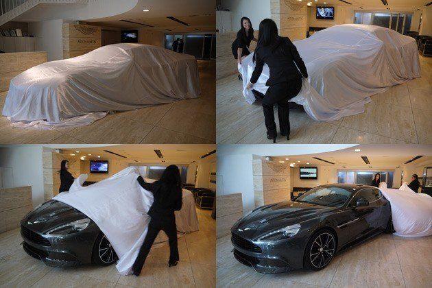 アストンマーティンが100周年記念モデルの日本上陸1号車をお披露目!