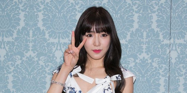 SEOUL, SOUTH KOREA - JULY 20: Tiffany of South Korean girl group Girls' Generation attends the opening...