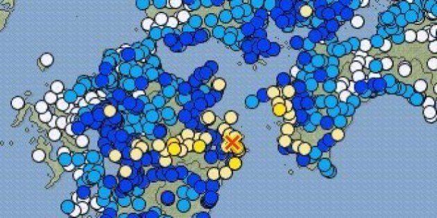 【地震情報】大分県南部で震度5強 今後も強い余震続く恐れ