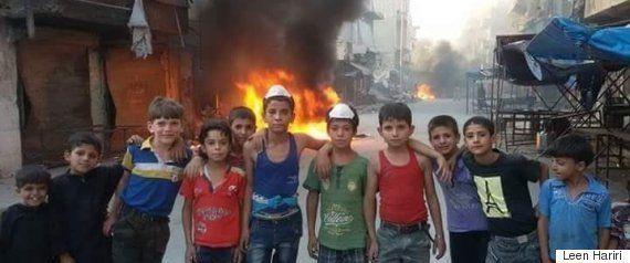 【シリア内戦】血まみれの男児の姿が物語る、アレッポの史上最悪の戦闘(動画・画像)