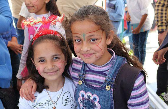 シリア難民支援:トルコで祝う「子どもの日」