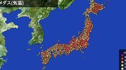 帯広で35度以上 北海道と近畿で2015年初の猛暑日に