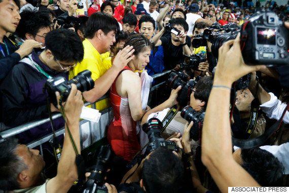 吉田沙保里、4連覇ならずも亡き父に感謝「ここまで私を育ててくれてありがとう」【リオオリンピック】