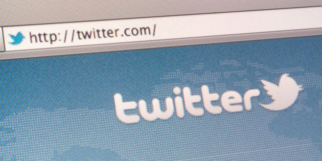 The Twitter Inc. website is displayed for a photograph in New York, U.S., on Wednesday, Aug. 31, 2011....