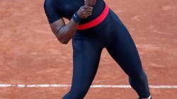 全仏オープン、今後はセリーナ・ウィリアムスの「ブラックパンサー・スーツ」を禁止へ