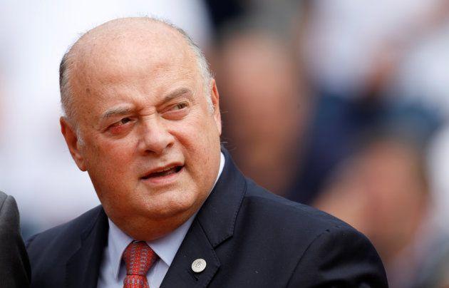 フランステニス連盟のベルナール・ジウディセリ会長