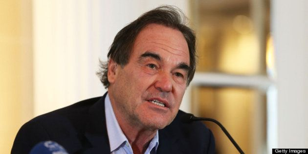 ZURICH, SWITZERLAND - SEPTEMBER 20: Oliver Stone attends the press conference for the movie 'Savages'...